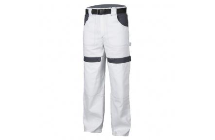 Pracovné nohavice COOL TREND bielo-šedé