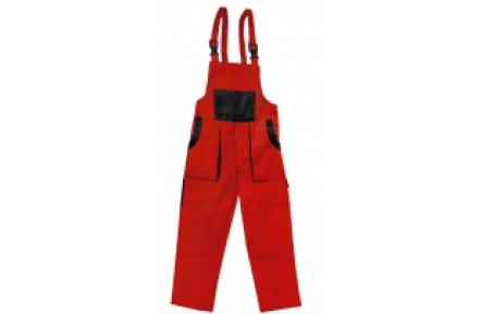 Pracovné nohavice lacl LUX EMIL červeno-čierne