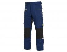 Pracovní kalhoty pas CXS STRETCH, tmavě modré