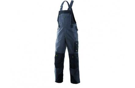 Pracovné nohavice SIRIUS TRISTAN, s náprsenkou