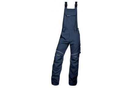 Pracovní kalhoty s laclem URBAN+ modré