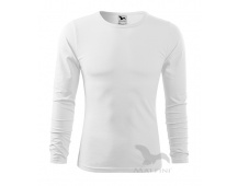 Triko Adler FIT-T LONG SLEEVE 119, bílé