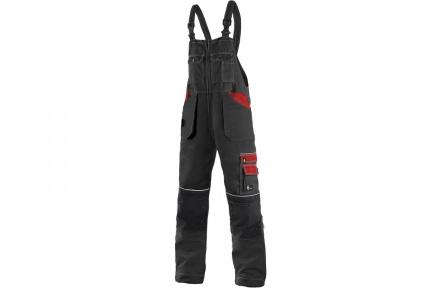 Pracovné nohavice lacl ORION KRYŠTOF čierno / červené