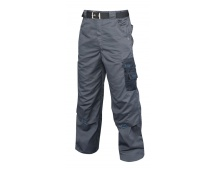 Pracovné nohavice 4TECH do pása šedej PREDĹŽENEJ