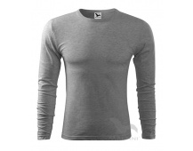Triko Adler FIT-T LONG SLEEVE 119, šedé