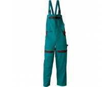 Pracovné nohavice s trakmi COOL TREND zelené