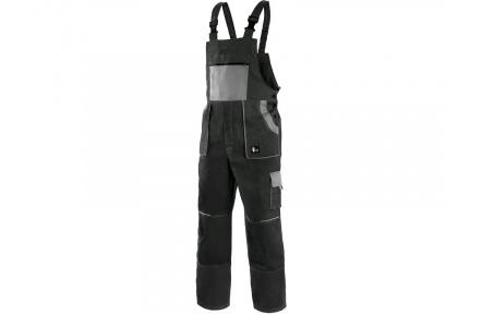 Pracovné nohavice lacl LUX EMIL čierno-šedé