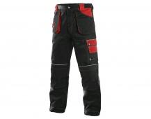 Pracovné nohavice ORION TEODOR čierno / červené