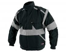 Pracovná bunda LUX EDA čierno-šedá