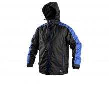 Pracovní zimní bunda BRIGHTON černo/modrá
