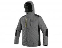 Zimní bunda BALTIMORE pánská, šedo-černá