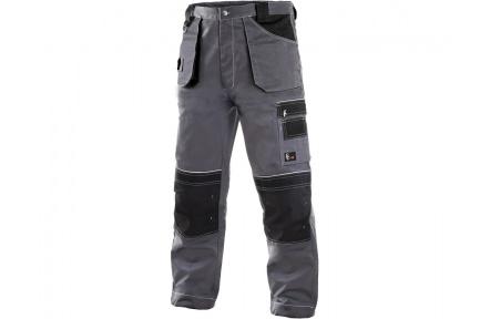 Pracovné nohavice ORION TEODOR šedej ZIMNÉ