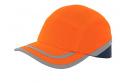 Reflexní čepice s výztuhou CALLUM, oranžová