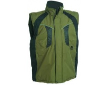 Pracovná vesta zateplená NYALA zelená