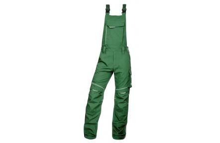 Pracovní kalhoty s laclem URBAN+ zelené