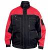 Pracovná bunda ORION červeno-čierna